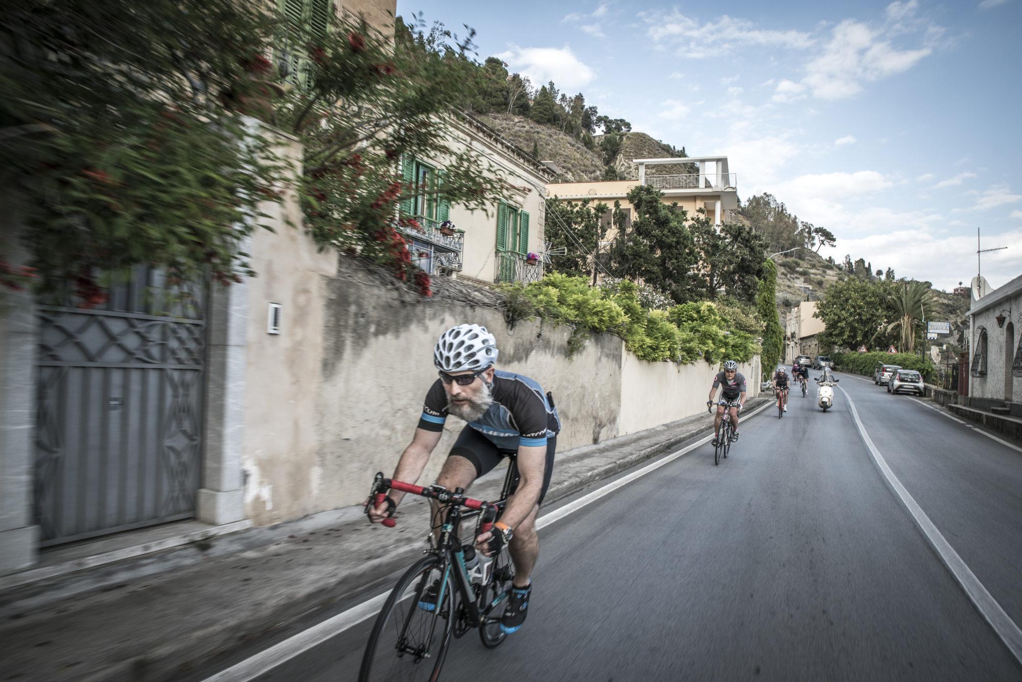 Full speed ahead in Sicily.
